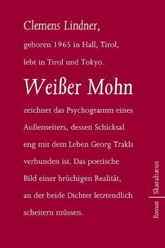 Rezension zu »Weißer Mohn« von Clemens Lindner