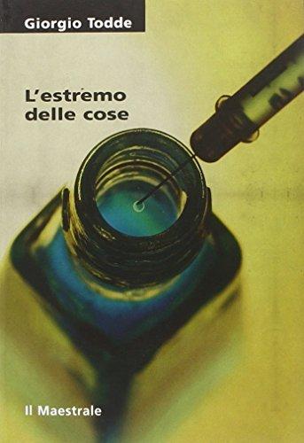 Rezension zu »L'estremo delle cose« von Giorgio Todde