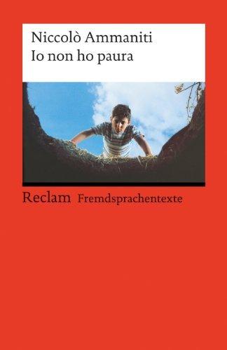 Rezension zu »Io non ho paura« von Niccolò Ammaniti