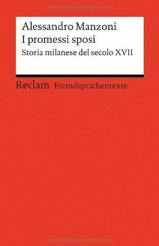 Alessandro Manzoni: »I promessi sposi« auf Bücher Rezensionen