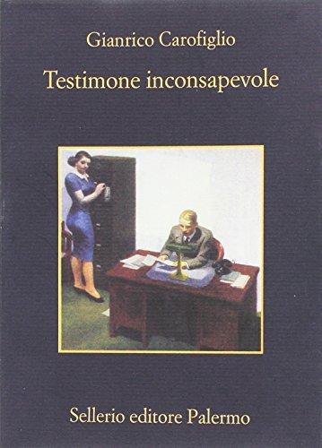 Kurzcharakteristik zu Gianrico Carofiglio: »Testimone inconsapevole | Reise in die Nacht«