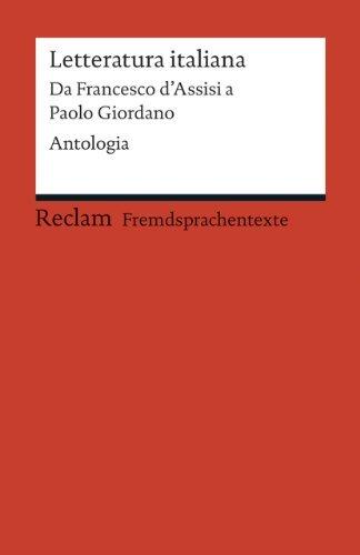 Rezension zu »Letteratura italiana: Da Francesco d'Assisi a Paolo Giordano«