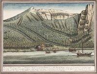 Sigismund Bacstrom: Spanisches Fort in Santa Cruz de Nuca (1793)