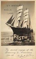 Frank Hurley: Titelblatt des Tagebuchs seiner Antarktis-Reise mit der »Discovery« (1930)