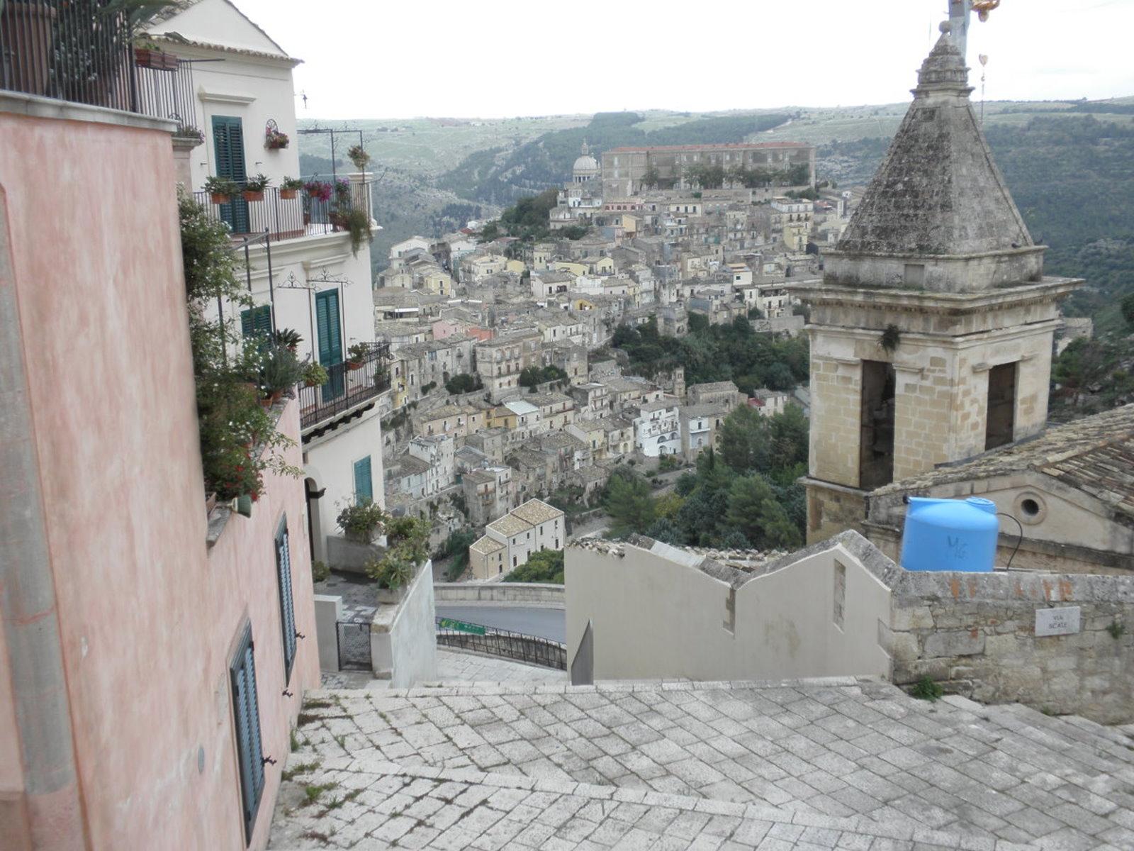 Ragusa Ibla: Treppen