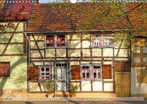 Wandkalender Frontal – Häuserfronten: Juli
