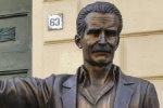 Montalbano-Statue in Porto Empedocle